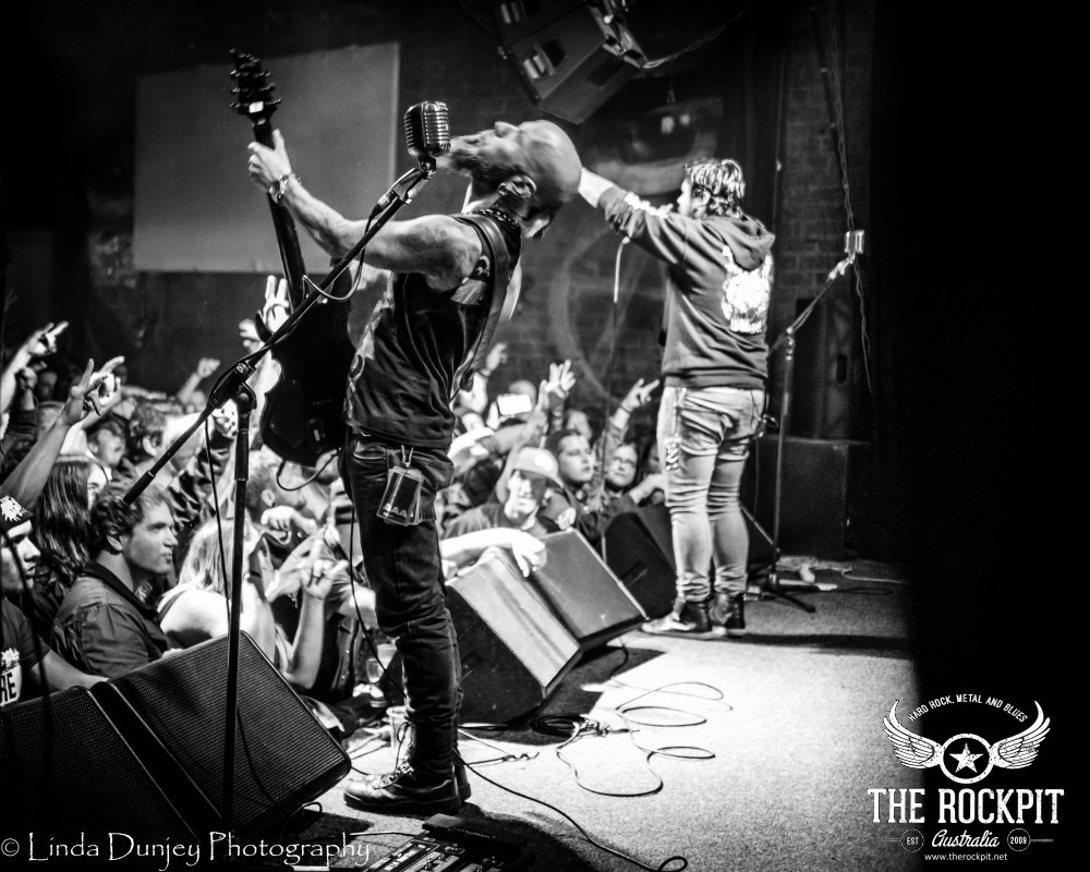 Drowning pool for Pool show 2016